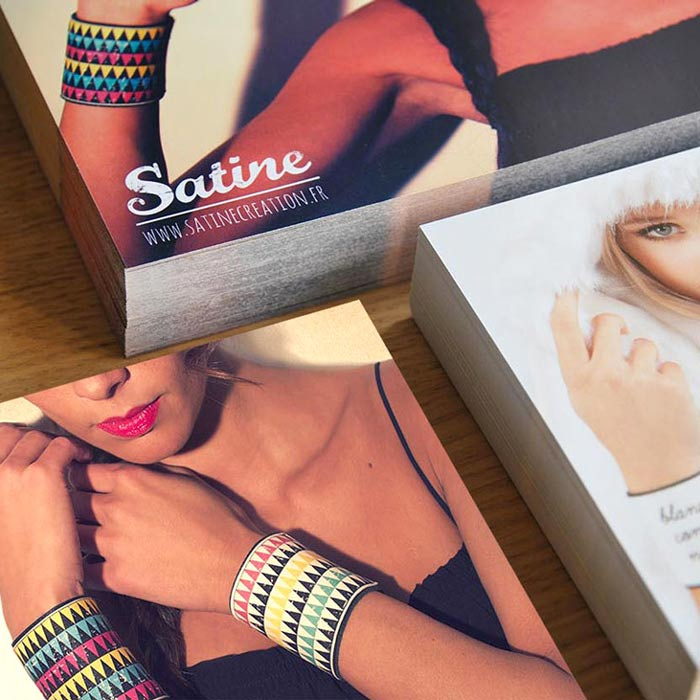 flyers Satine - Iconink